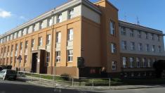 Budova školy vKomenského ulici