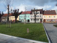 Severní část Husova náměstí