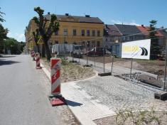 Průběh stavby v červnu 2020